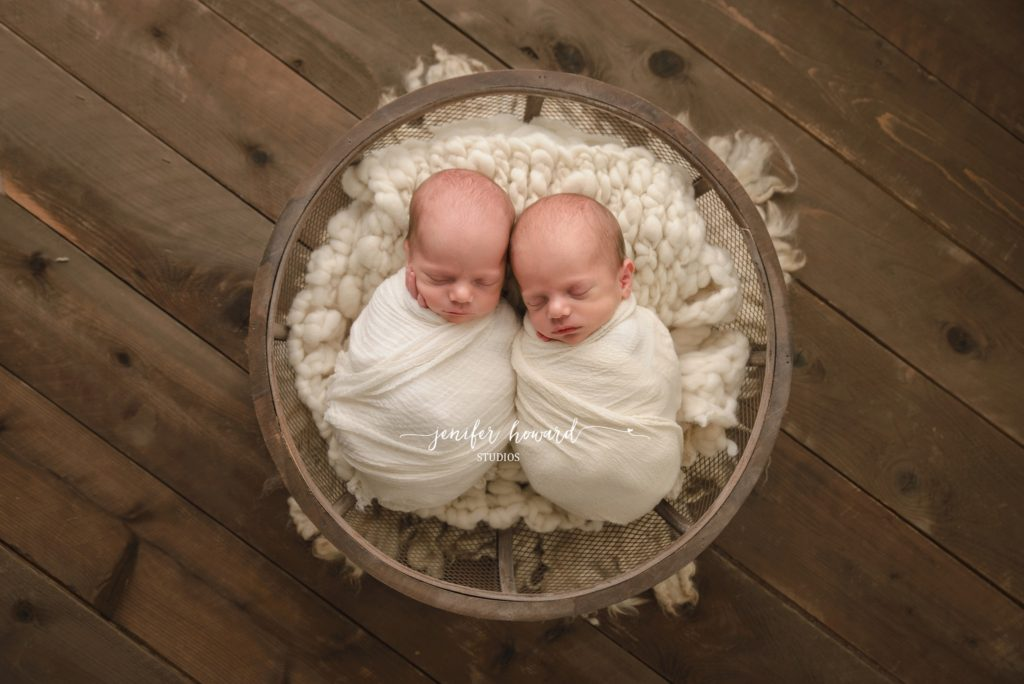 Greensboro Twin Newborn Photographer