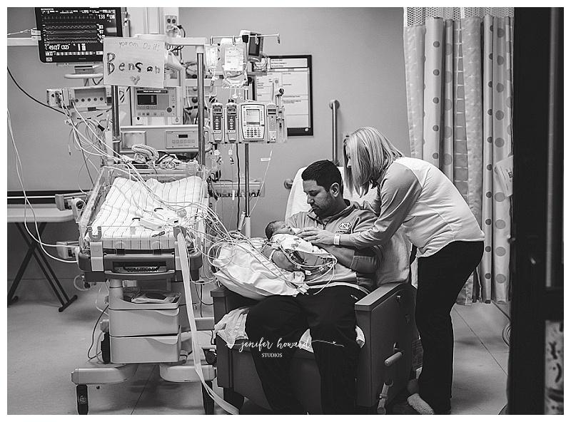 CHD Awareness - Greensboro Newborn Photographer