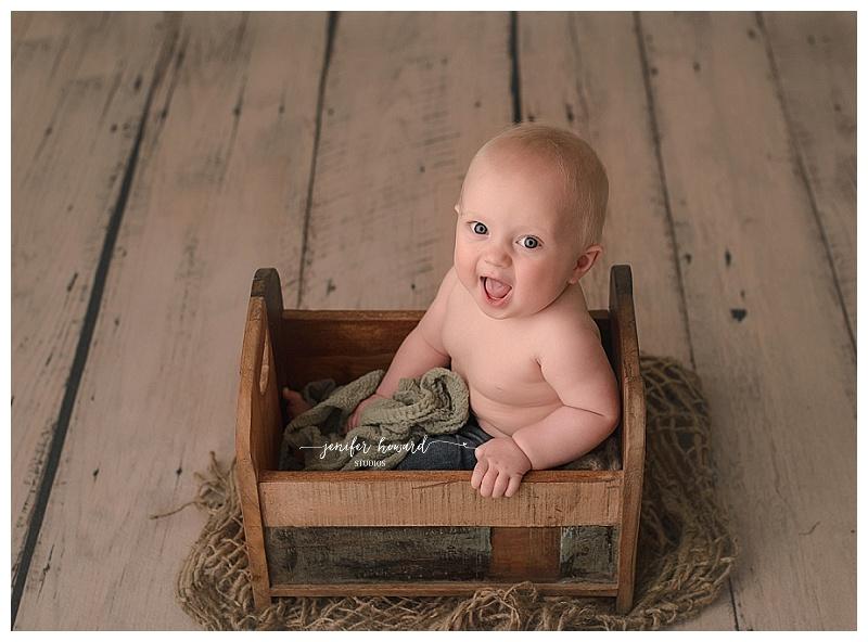 Baby Milestone Photographer Kernersville NC