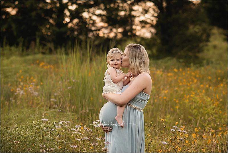 Winston-Salem Sunset Maternity Photography